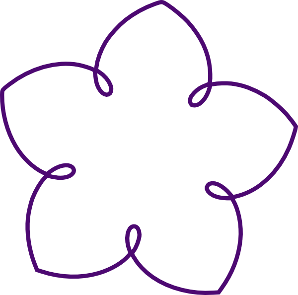 Vines clipart purple flower. Shape group clip art