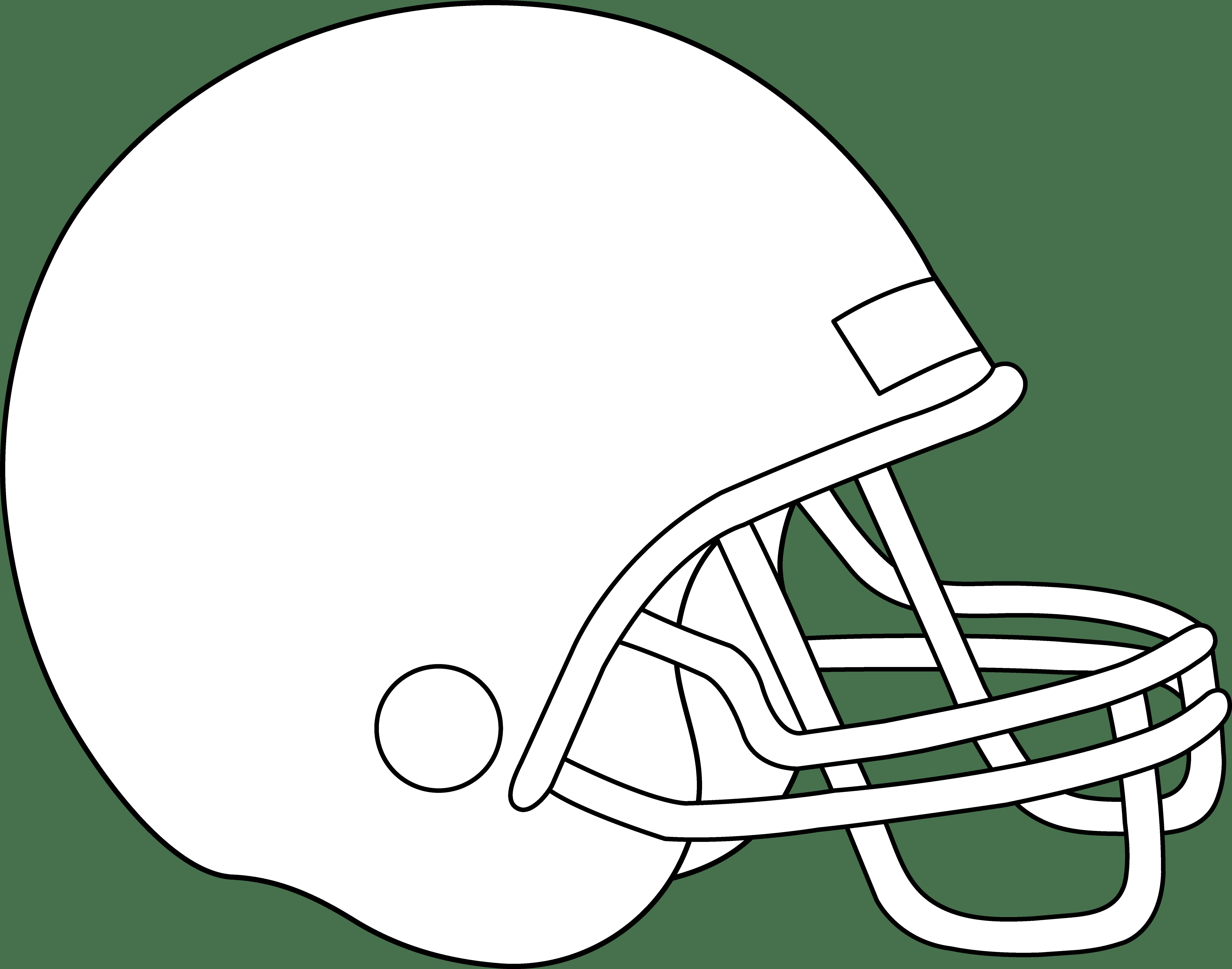 Teams coloring pages eskayalitim. Clipart football sketch