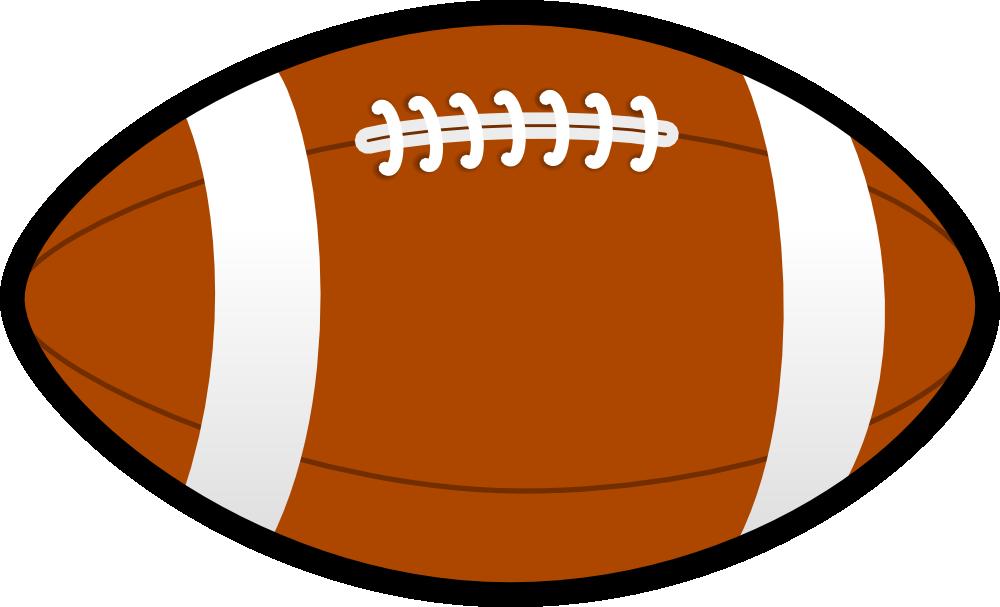 Clip art image pigskin. Football clipart birthday