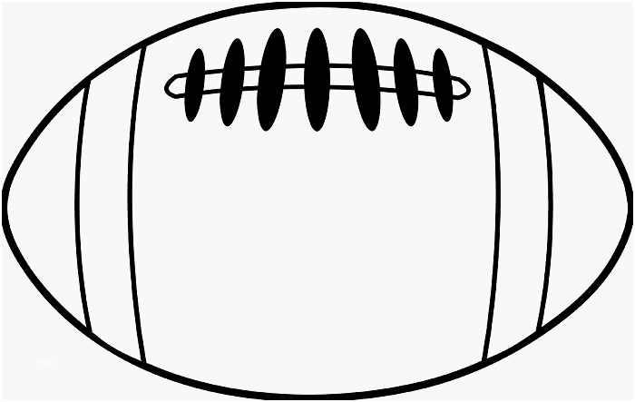 Play drawing at paintingvalley. Clipart football template