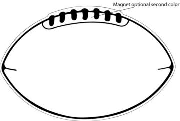 Free download clip art. Clipart football template