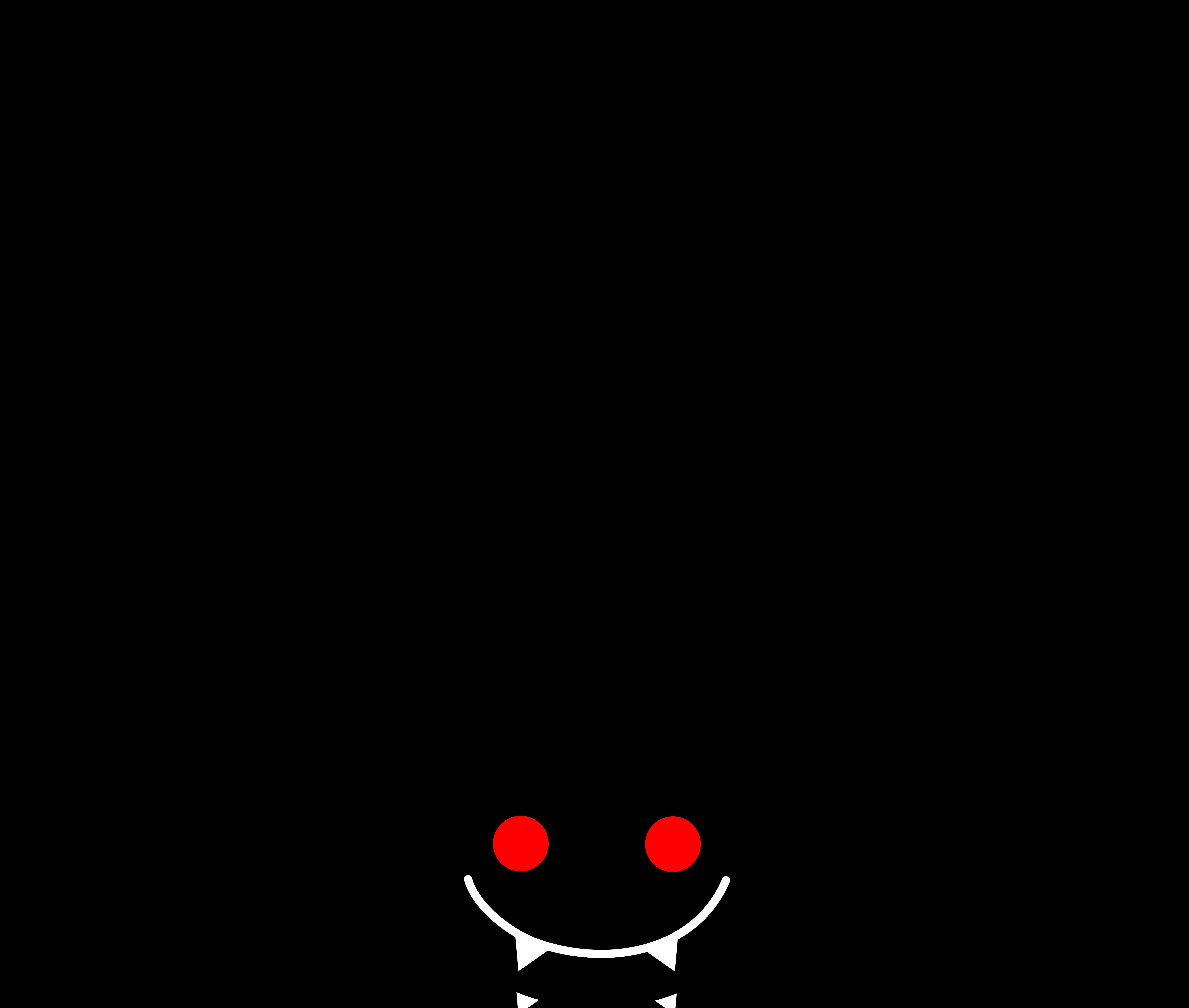 Spider web border panda. Website clipart transparent