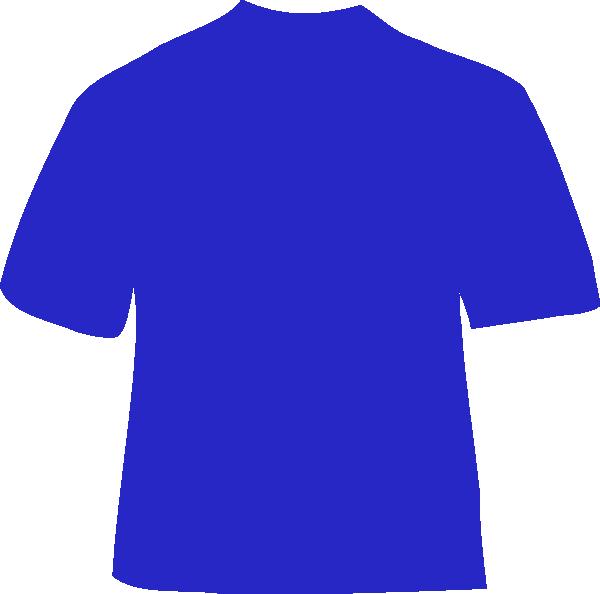 shirts clipart blue