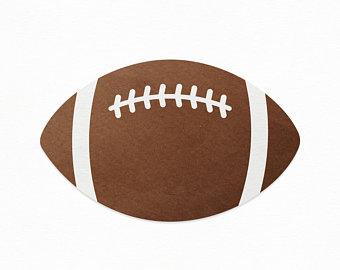 Etsy . Clipart football vector