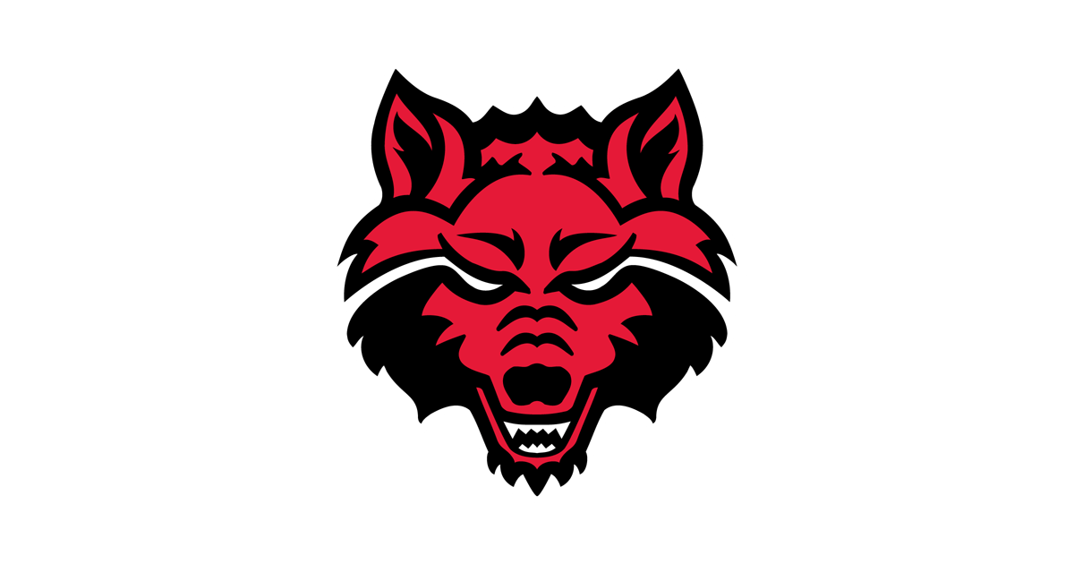 Clipart football wolf. Arkansas state logo png