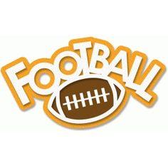 best clip art. Words clipart football
