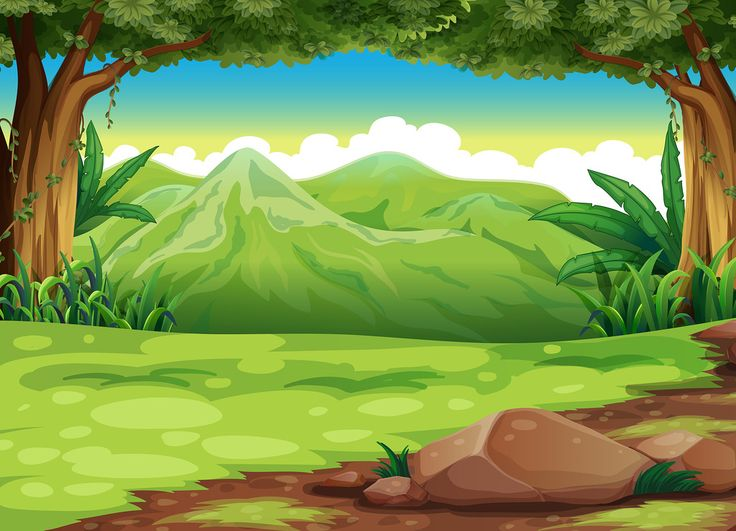 Forest clipart. Best landscapebackground images on