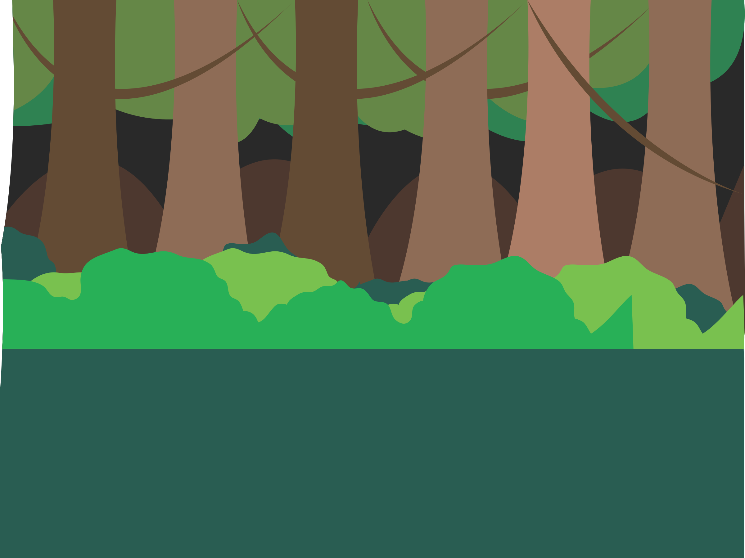 Clipart forest. Scene big image png