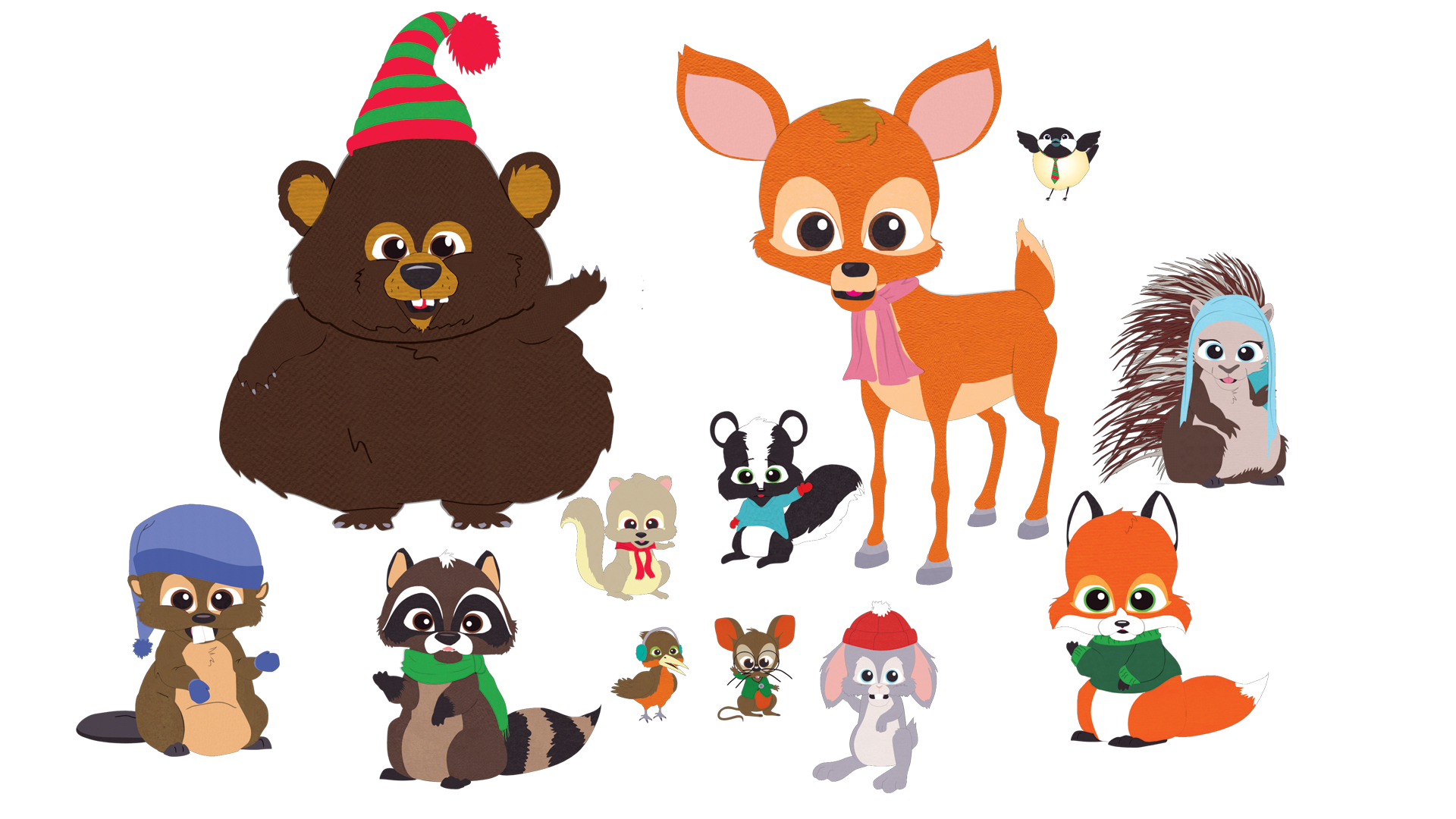Clipart mountain woodland. Critters south park archives