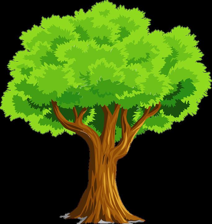 Imagen gratis en pixabay. Clipart tree eggplant