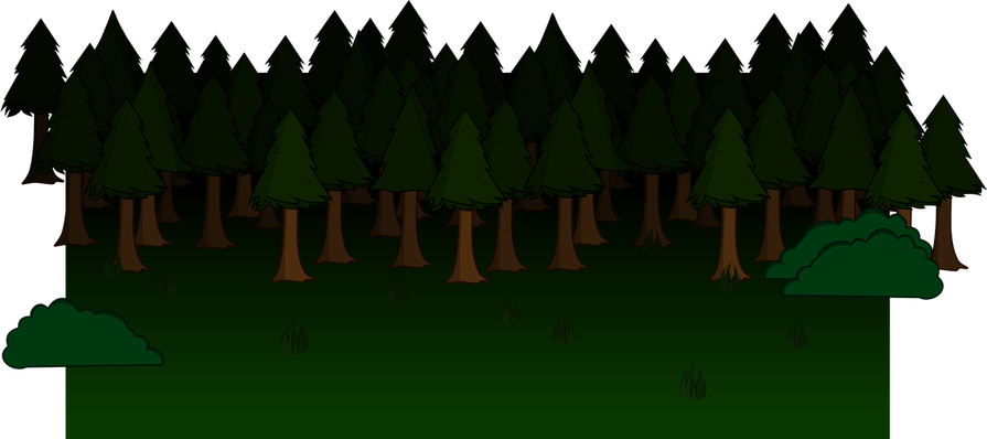 Trail clipart forest scene. Free at getdrawings com
