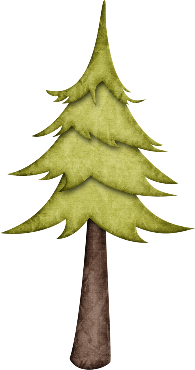 Jss happycamper pine tree. Clipart mountain woodland