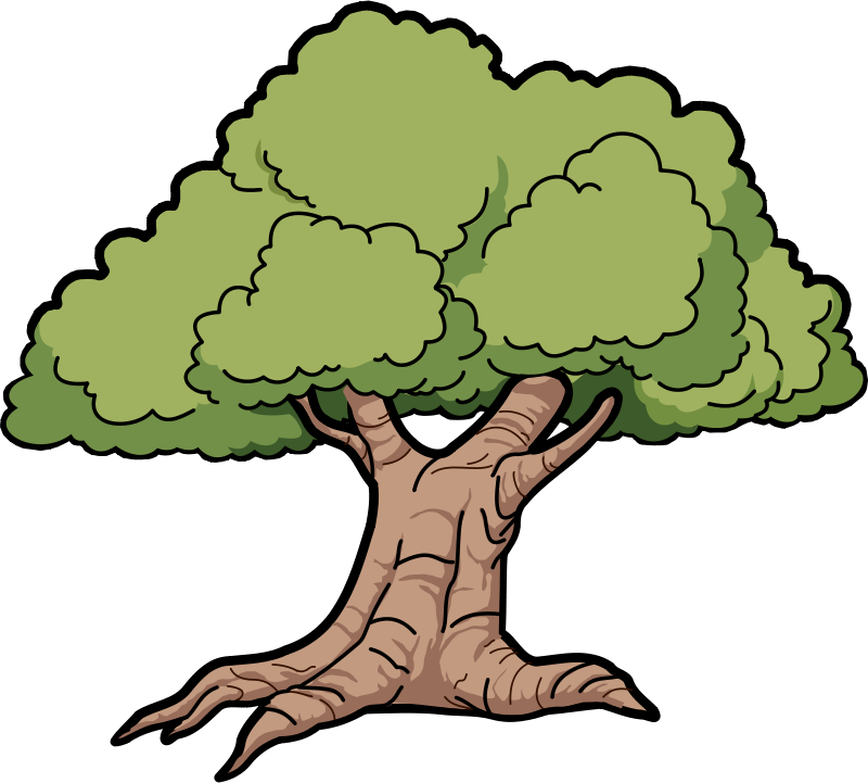 Clipart trees rainforest. Free animated leprechaun download