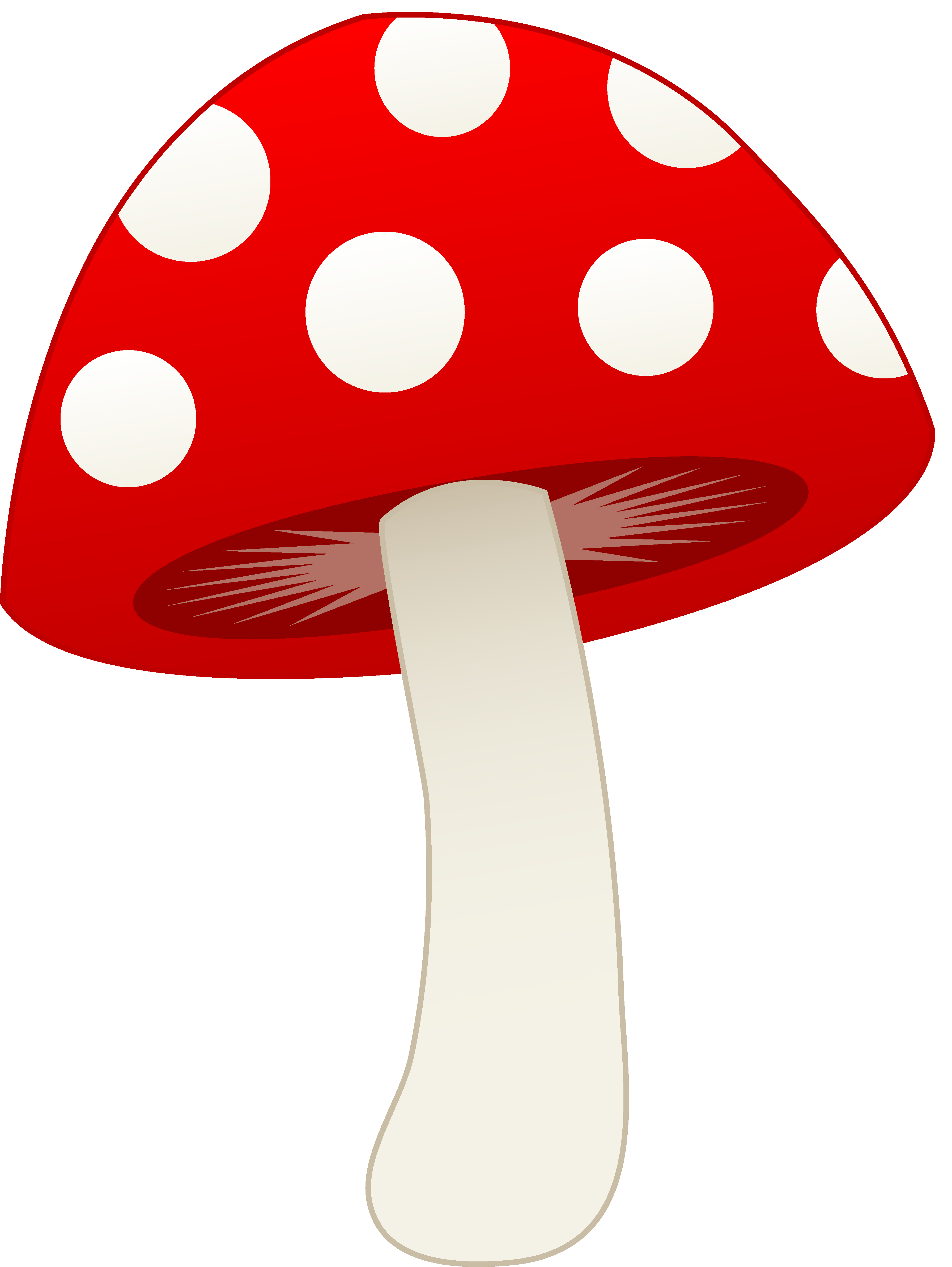 Ladybug clipart mushroom.  shrooms pinterest clip