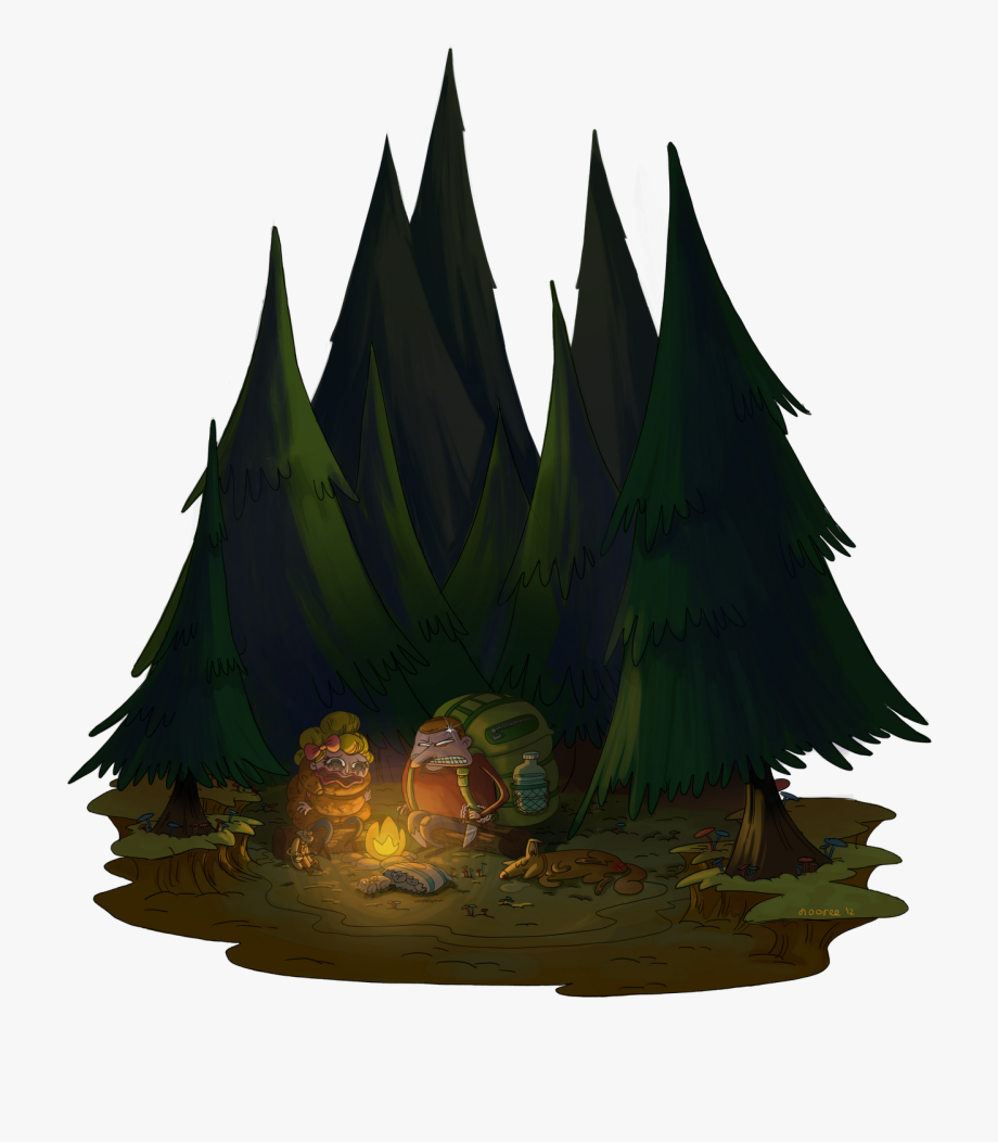 Transparent . Clipart forest file