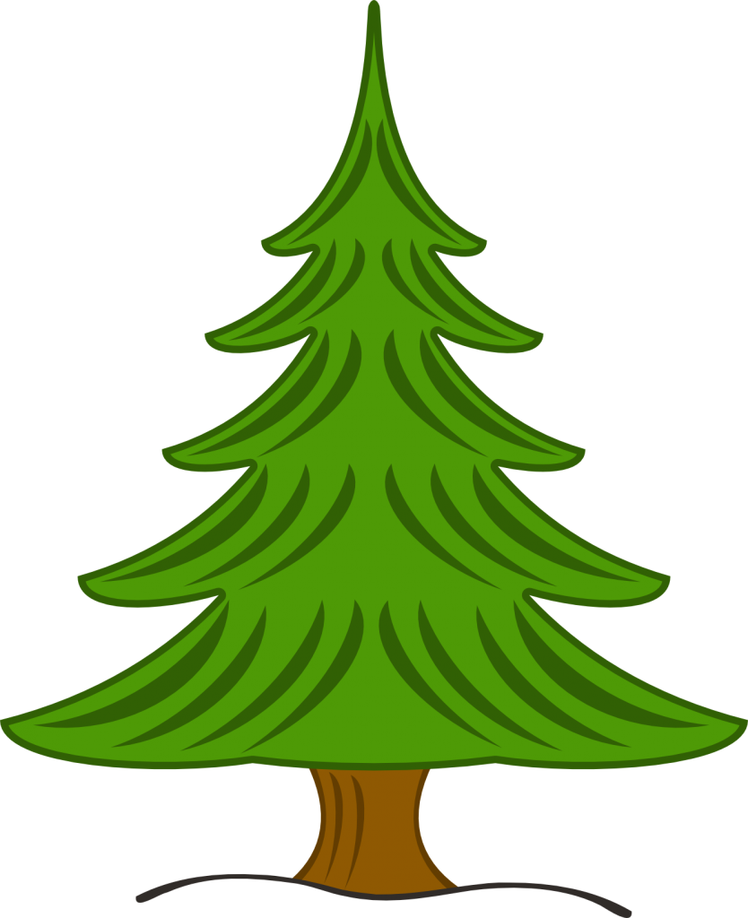 Tree clipart forest. Pine silhouette at getdrawings