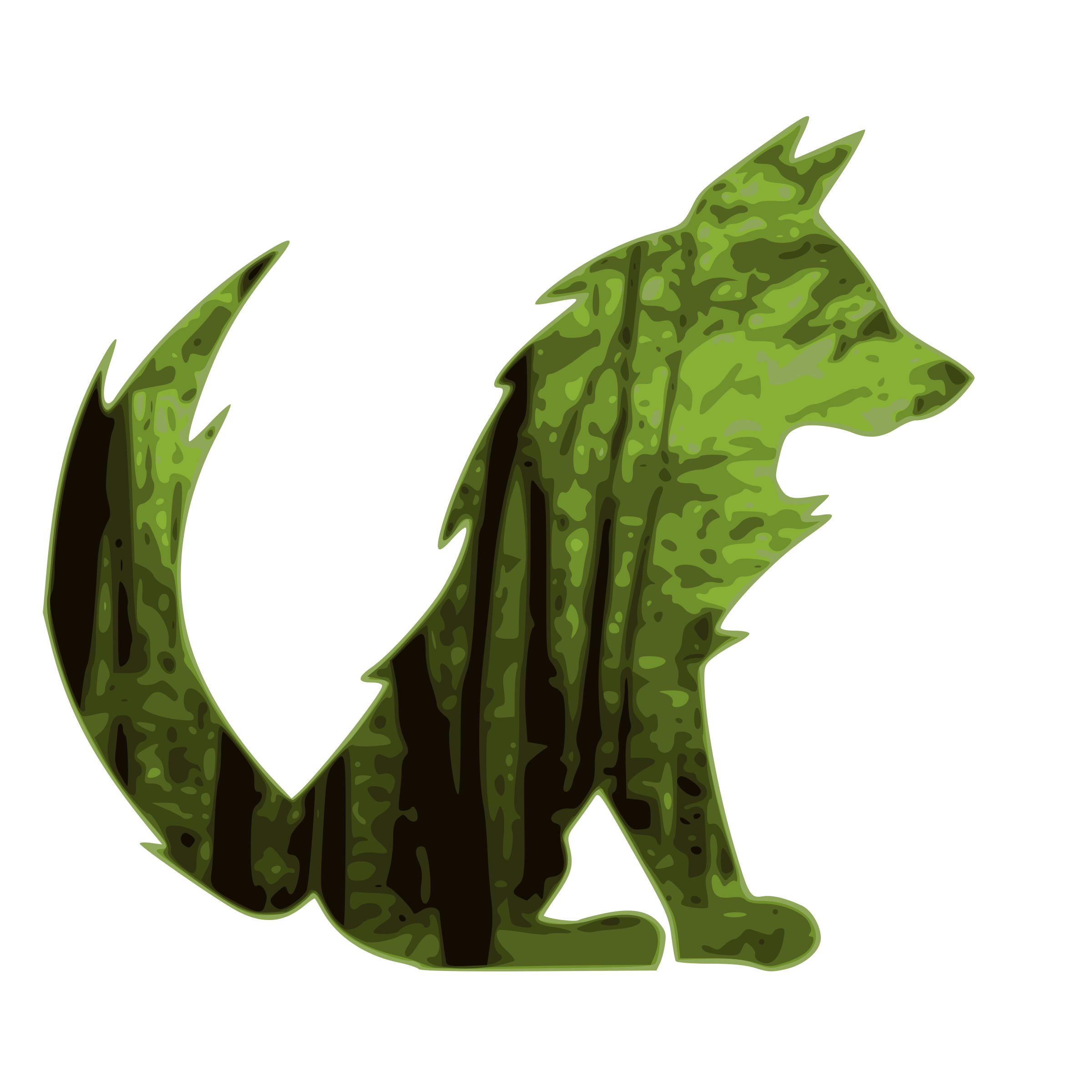 By akramly big image. Fox clipart forest