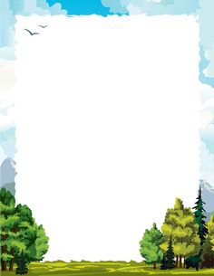 Frame clipart forest. Free cliparts download clip