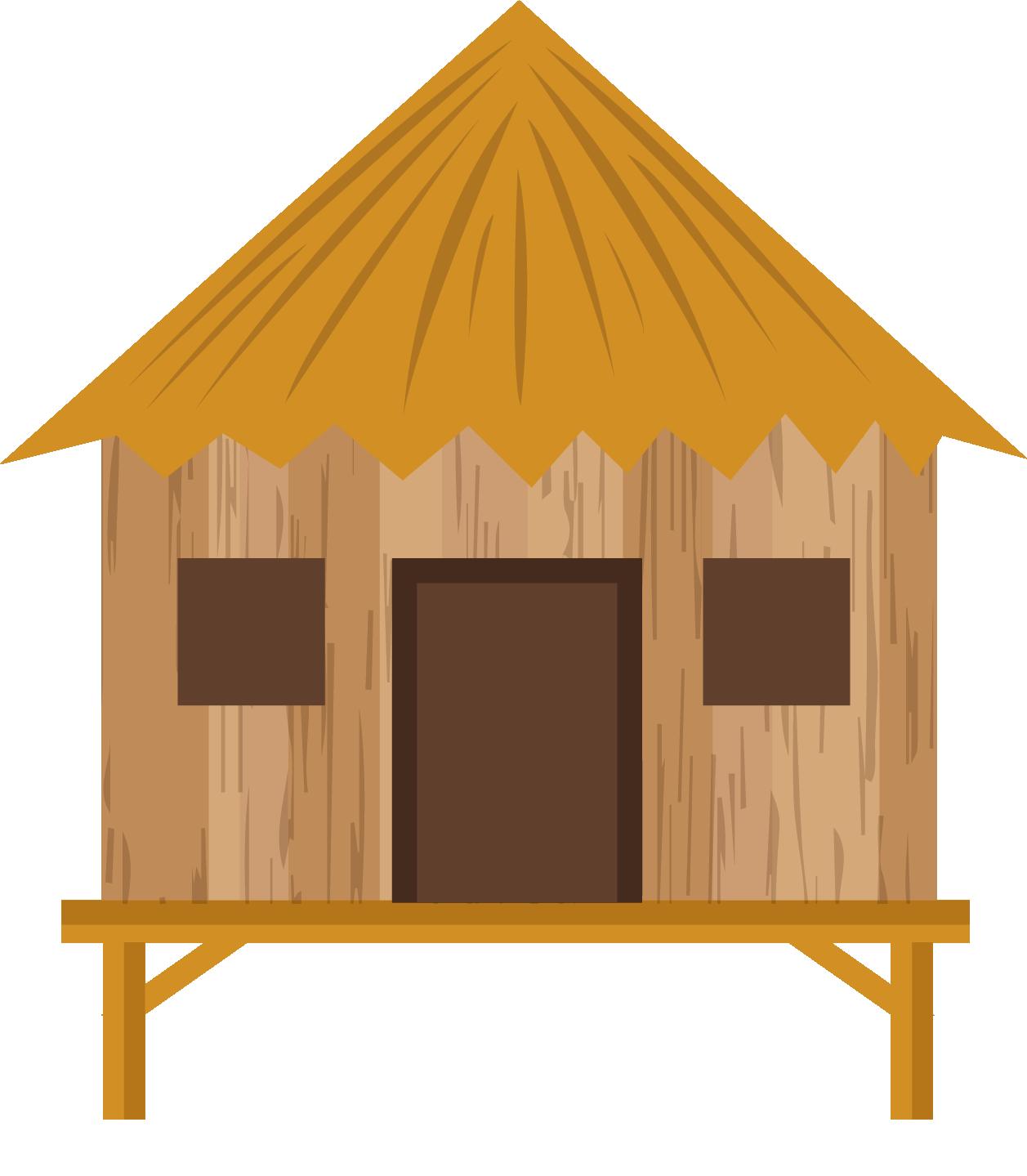 Hut clipart straw house, Hut straw house Transparent FREE ...