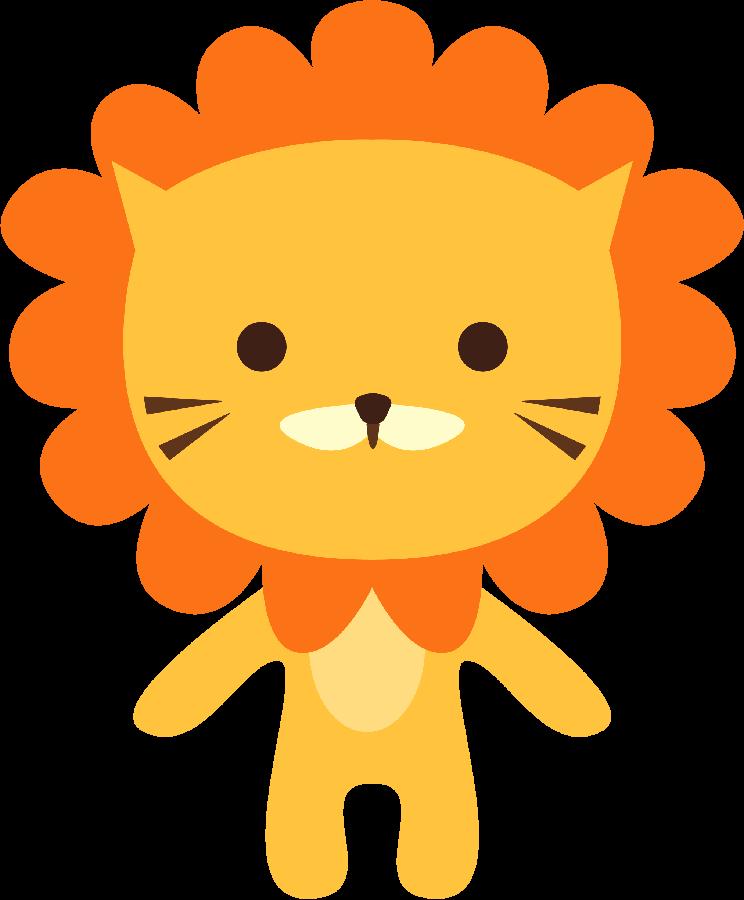 Nest clipart lion. O m gico de