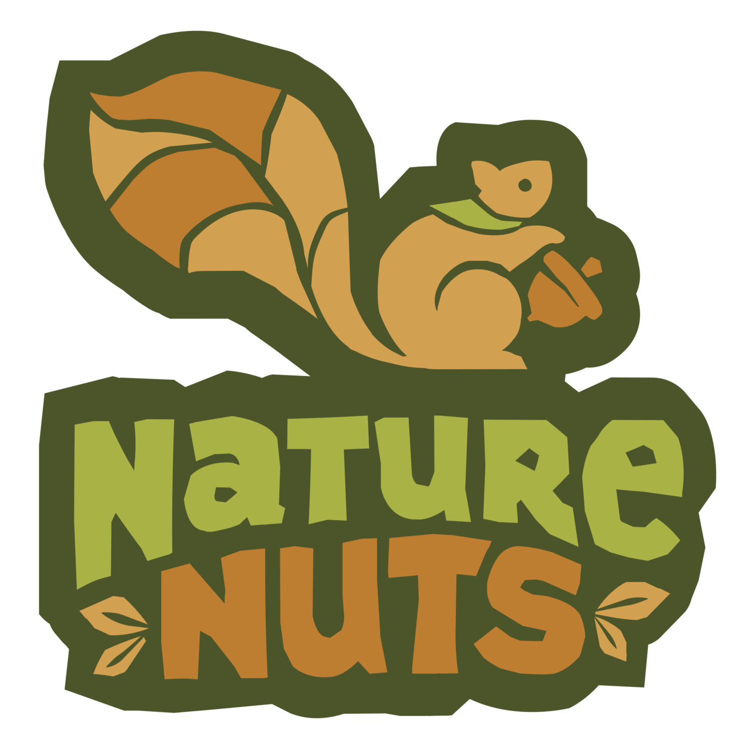 Ticket clipart single. Forest school nature nuts