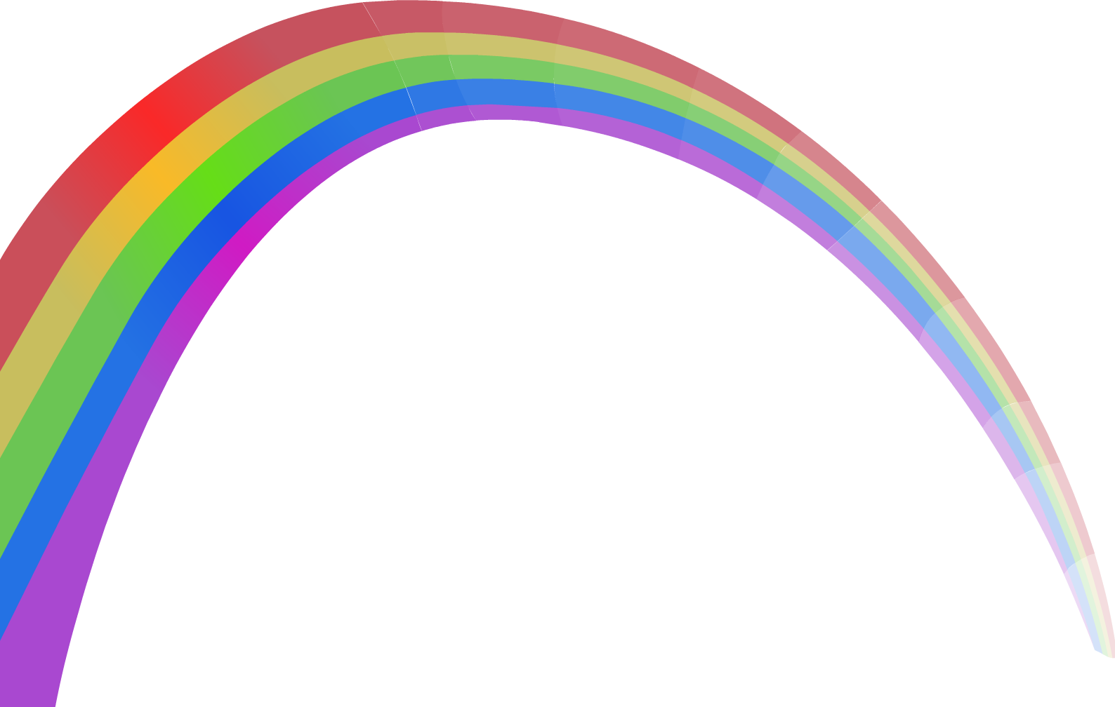 Clipart rainbow transparent background. Image mountain of misery