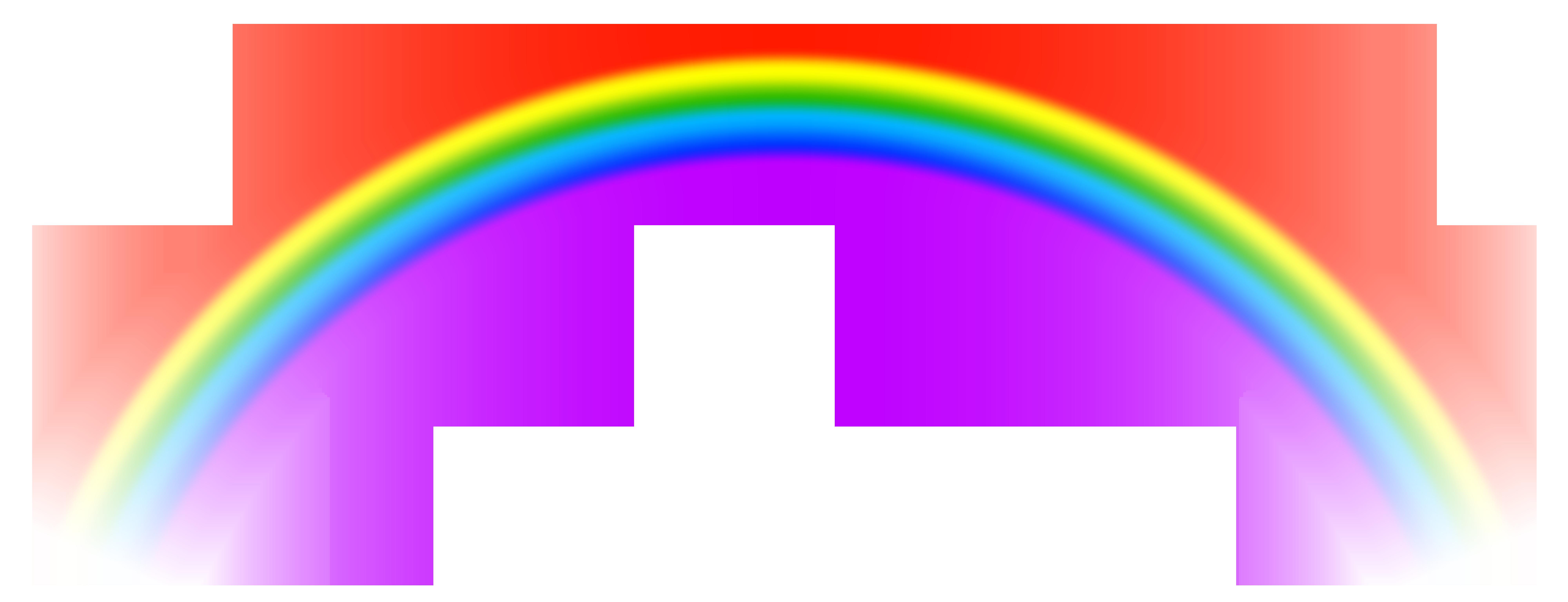 Positive clipart incorporation. Transparent rainbow png free
