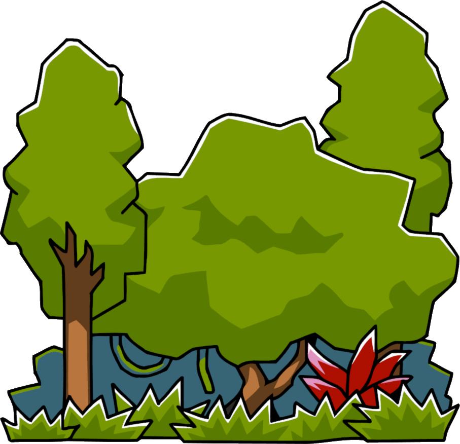 Plants clipart rainforest. Scribblenauts wiki fandom powered