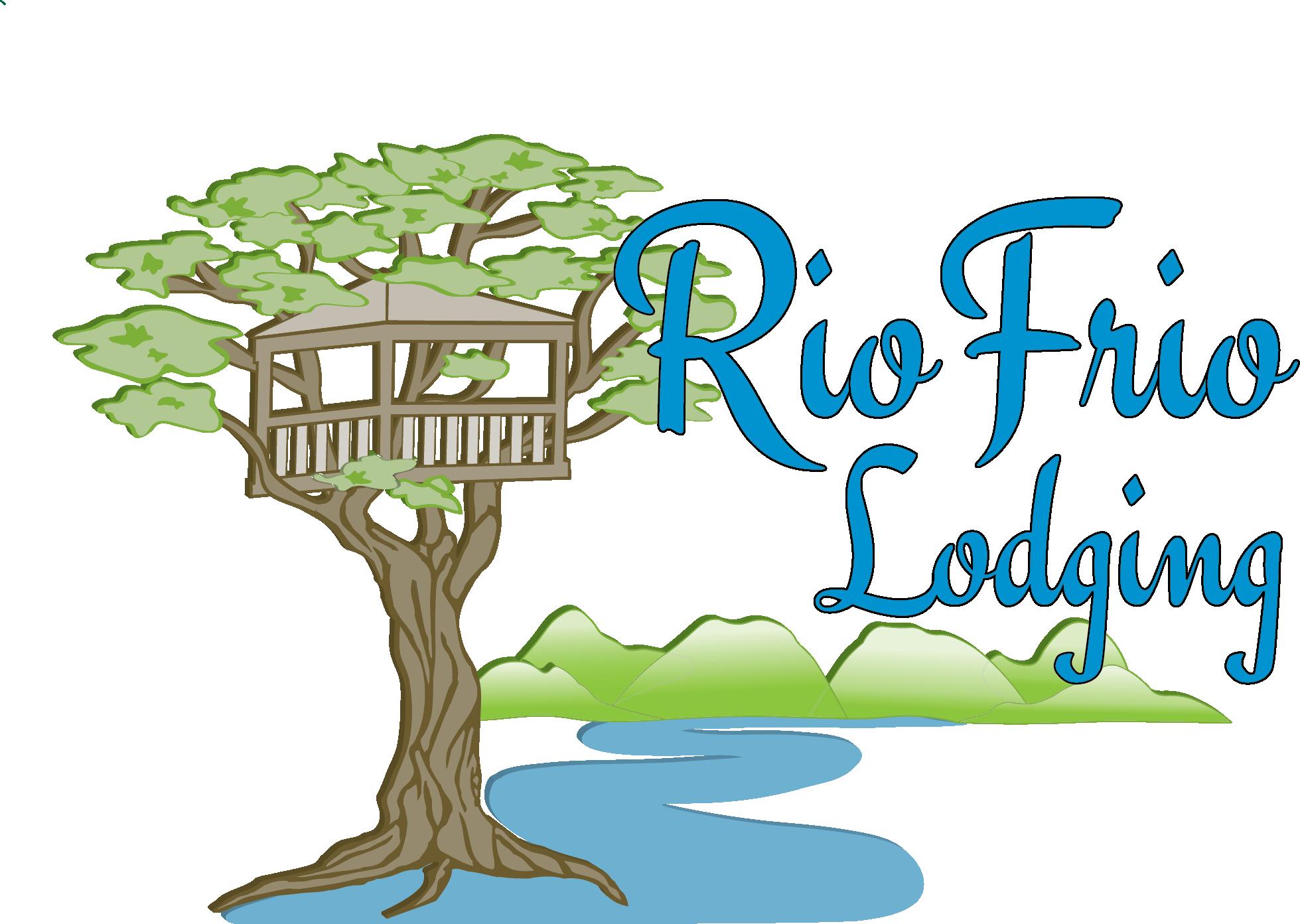Frio river treetop rio. Telephone clipart cabin