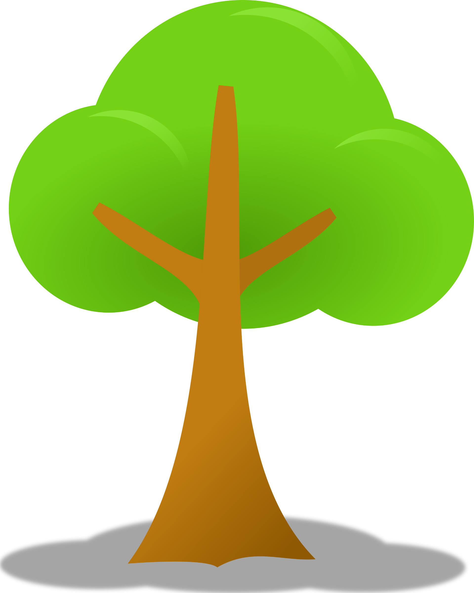 Tree big image png. Clipart forest simple