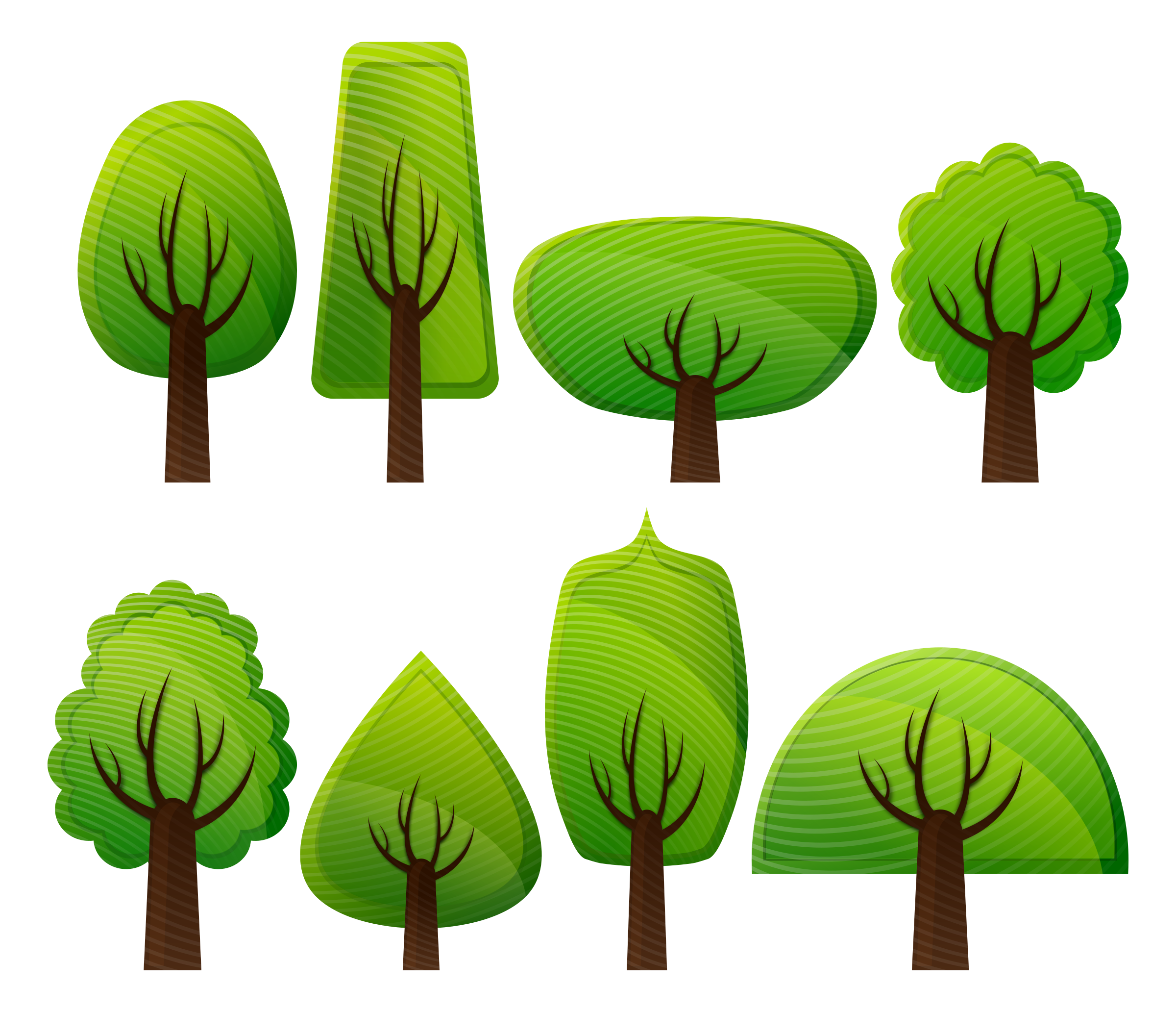 Clipart forest simple. Trees by viscious speed