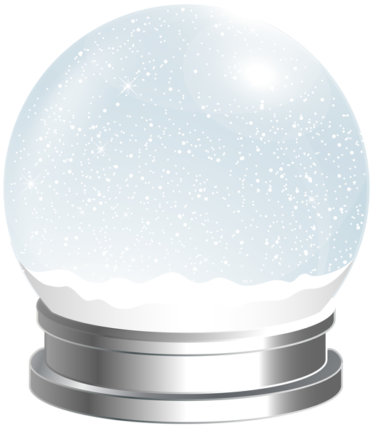 Mailbox clipart snowy. Empty snow globe png