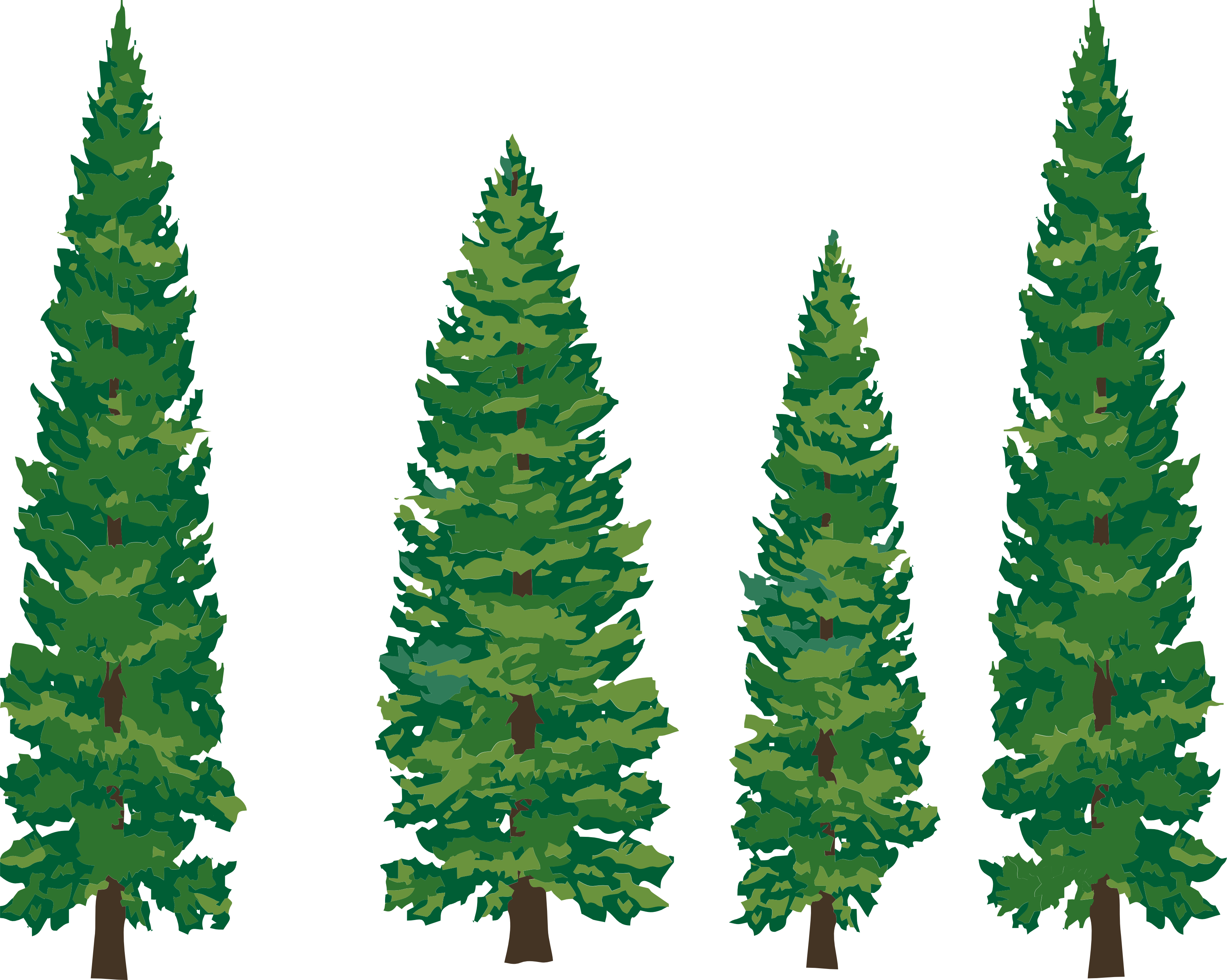 Tree line silhouette google. Lake clipart forest stream
