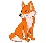 Free clip art pictures. Fox clipart
