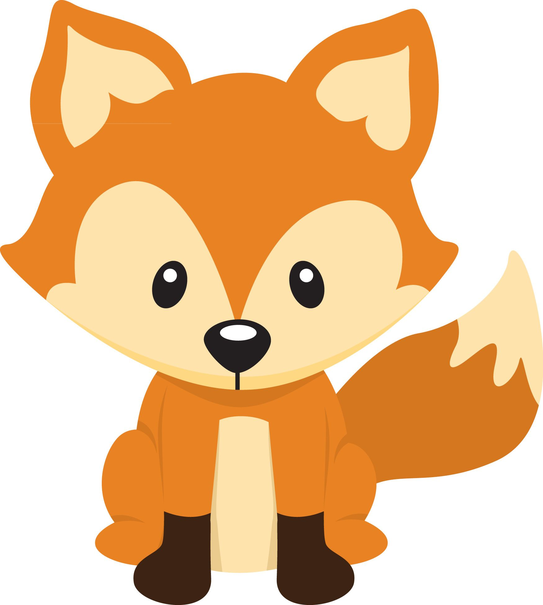 Woodland clipart. Free fox pictures clipartix