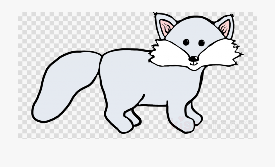 Wolf clipart polar fox. Arctic red png download