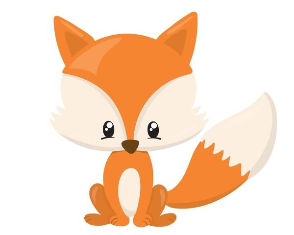 Animated pencil and in. Fox clipart baby fox