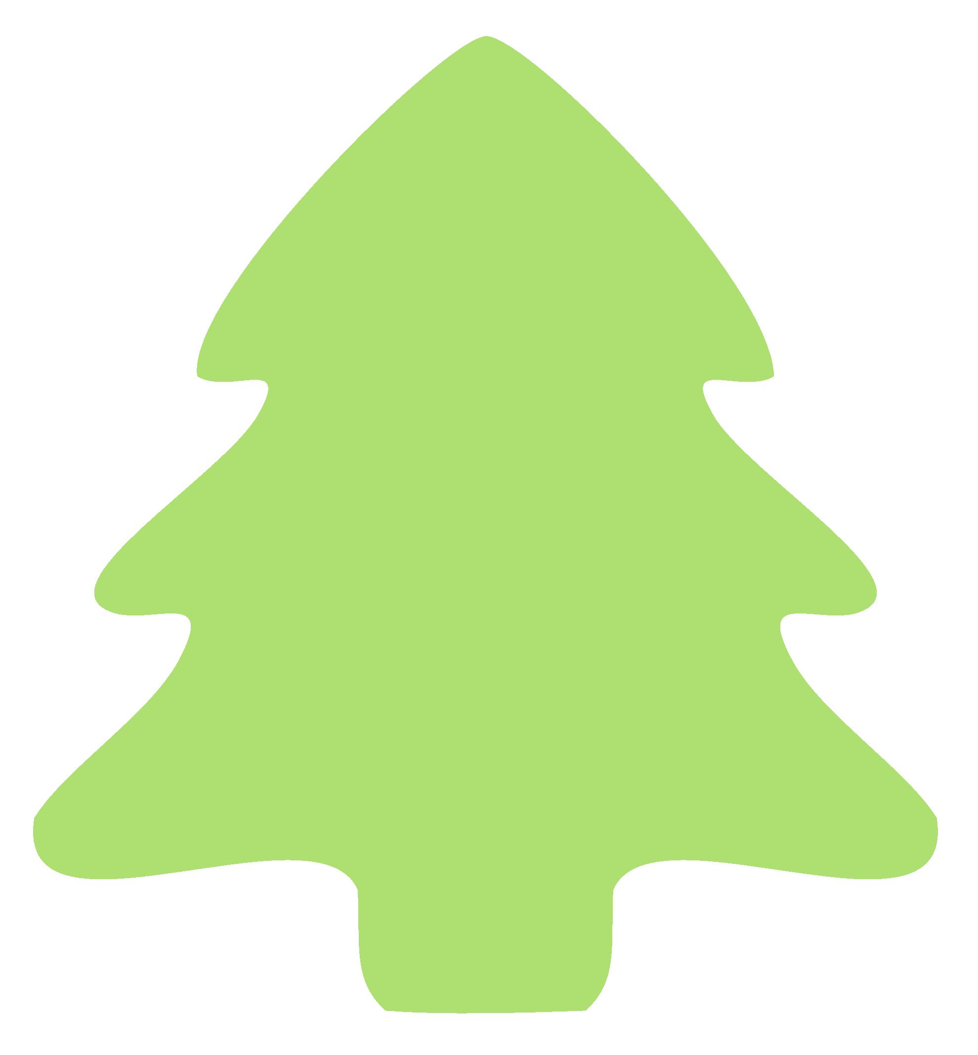 Tree clip art svg. Clipart fox christmas