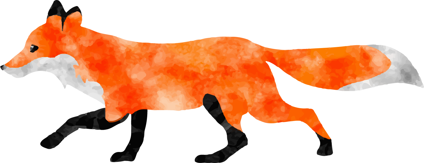 collection of transparent. Woodland clipart red fox