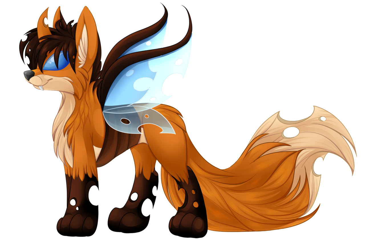 artist blackfreya changeling. Clipart fox clear background