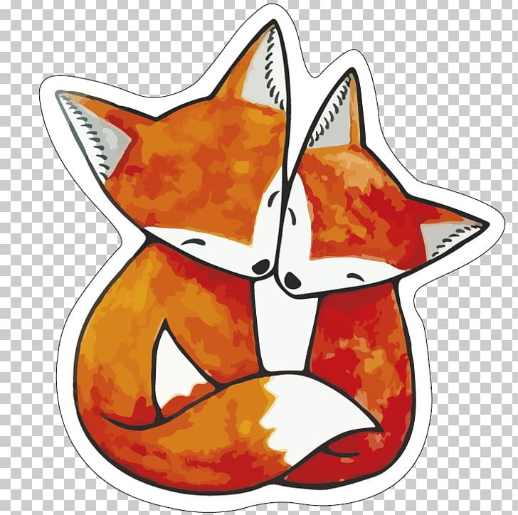 Vulpini drawing red illustration. Couple clipart fox