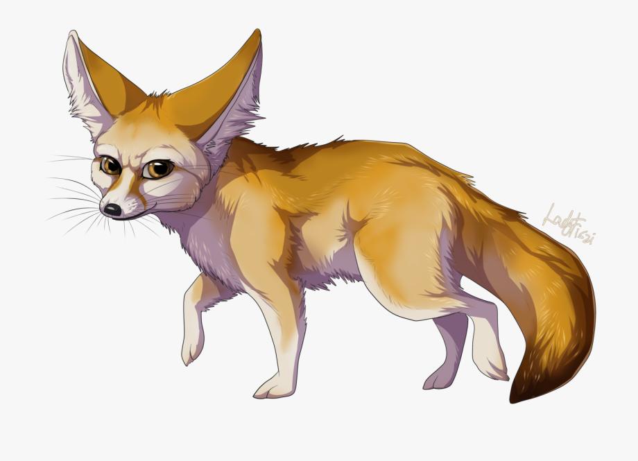 Red fennec png cliparts. Fox clipart desert fox