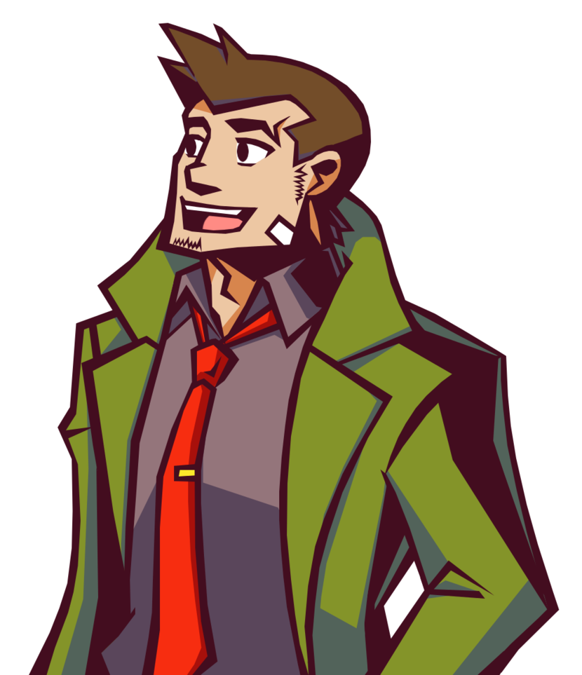 Detective clipart fox. Gumshoe in ghost trick