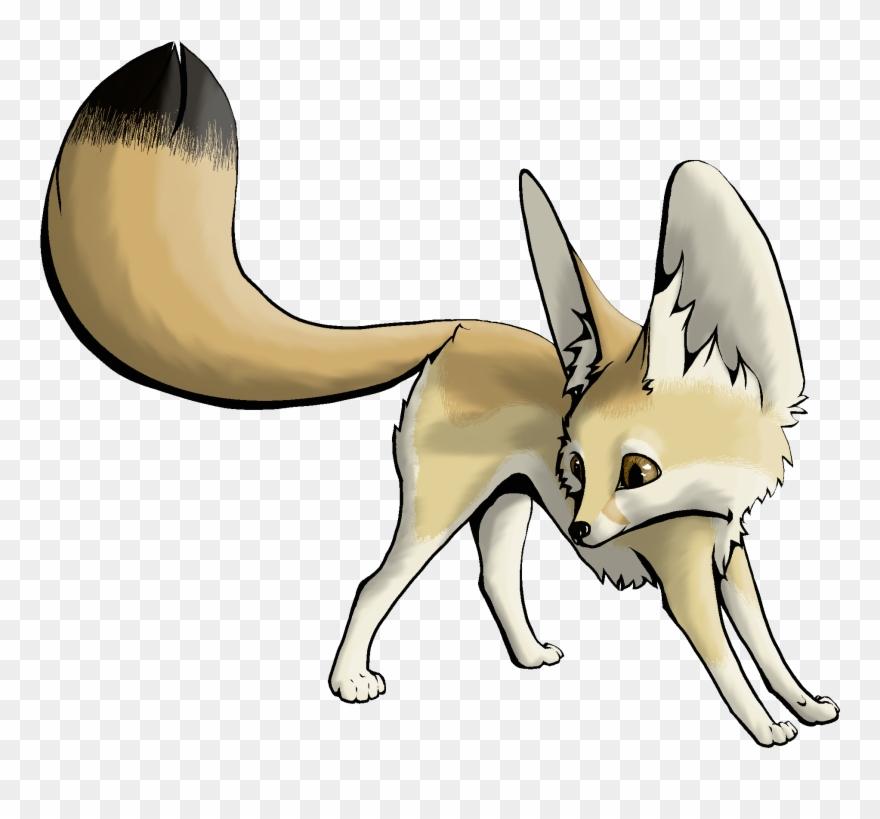 Clipart fox fennec fox. Dessert or desert drawing
