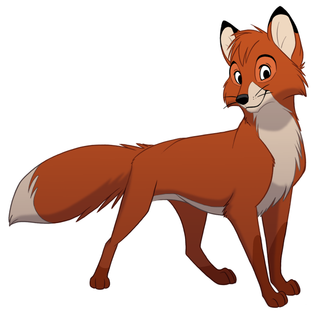 Todd collab by kaisertiger. Clipart tiger fox