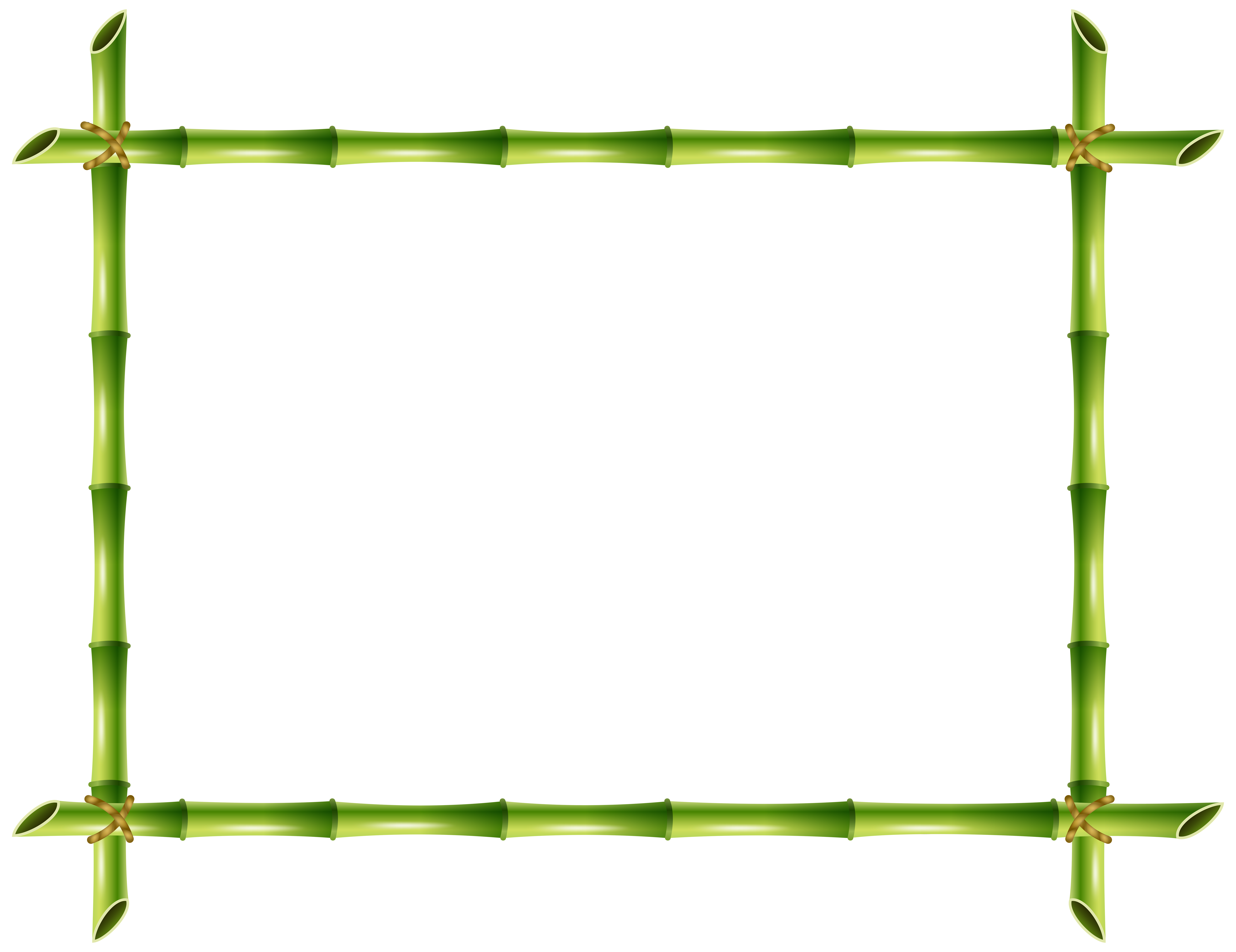 Frame png transparent clip. Clipart panda bamboo stick
