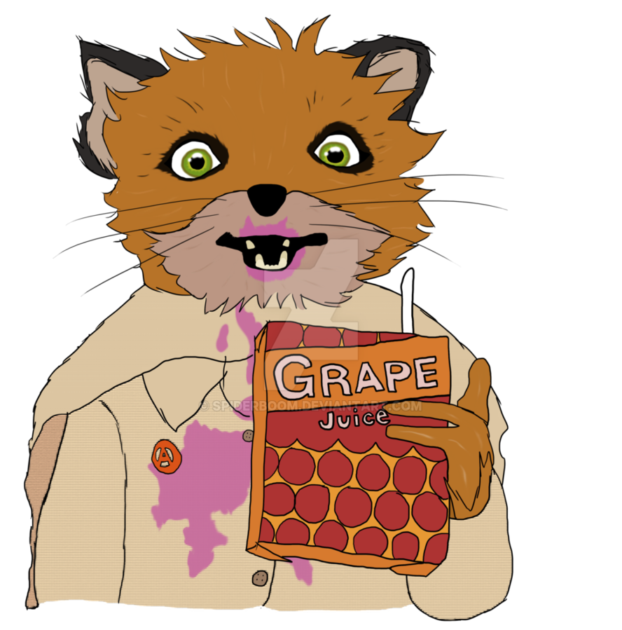 Juice by spiderboom on. Clipart fox grape