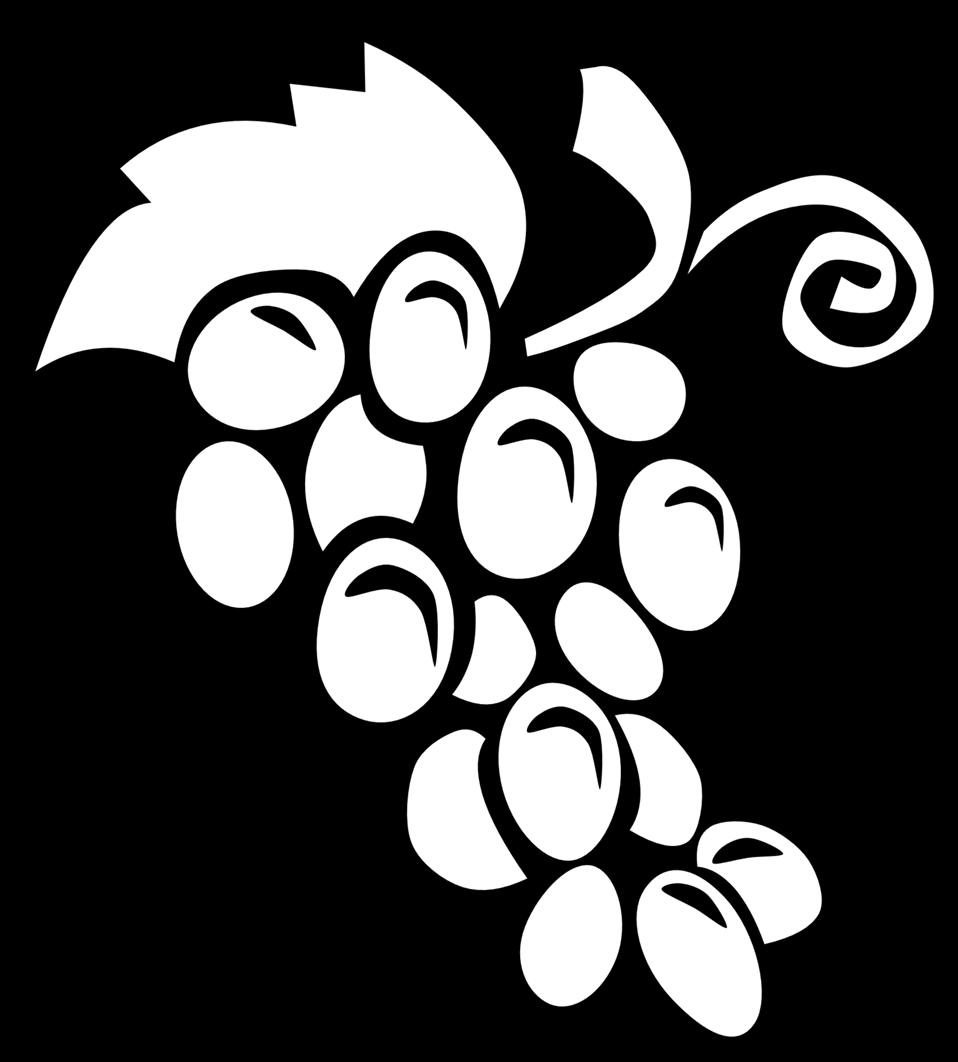 Public domain clip art. Grapes clipart illustration