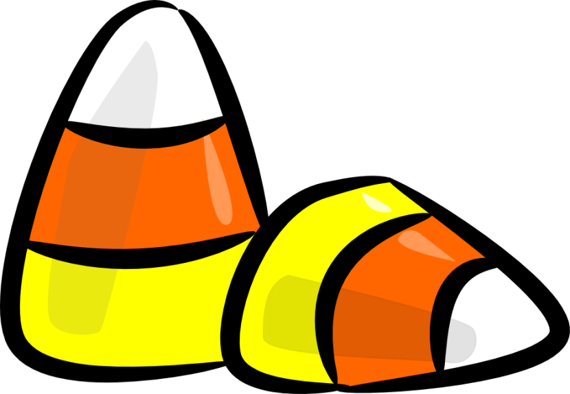 collection of candy. Clipart halloween treat
