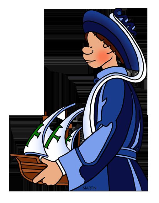 Prince henry the navigator. Clipart world explorers